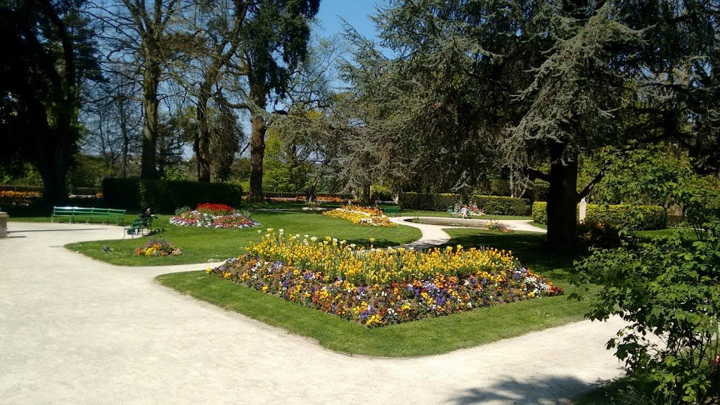 Coutances - the public garden