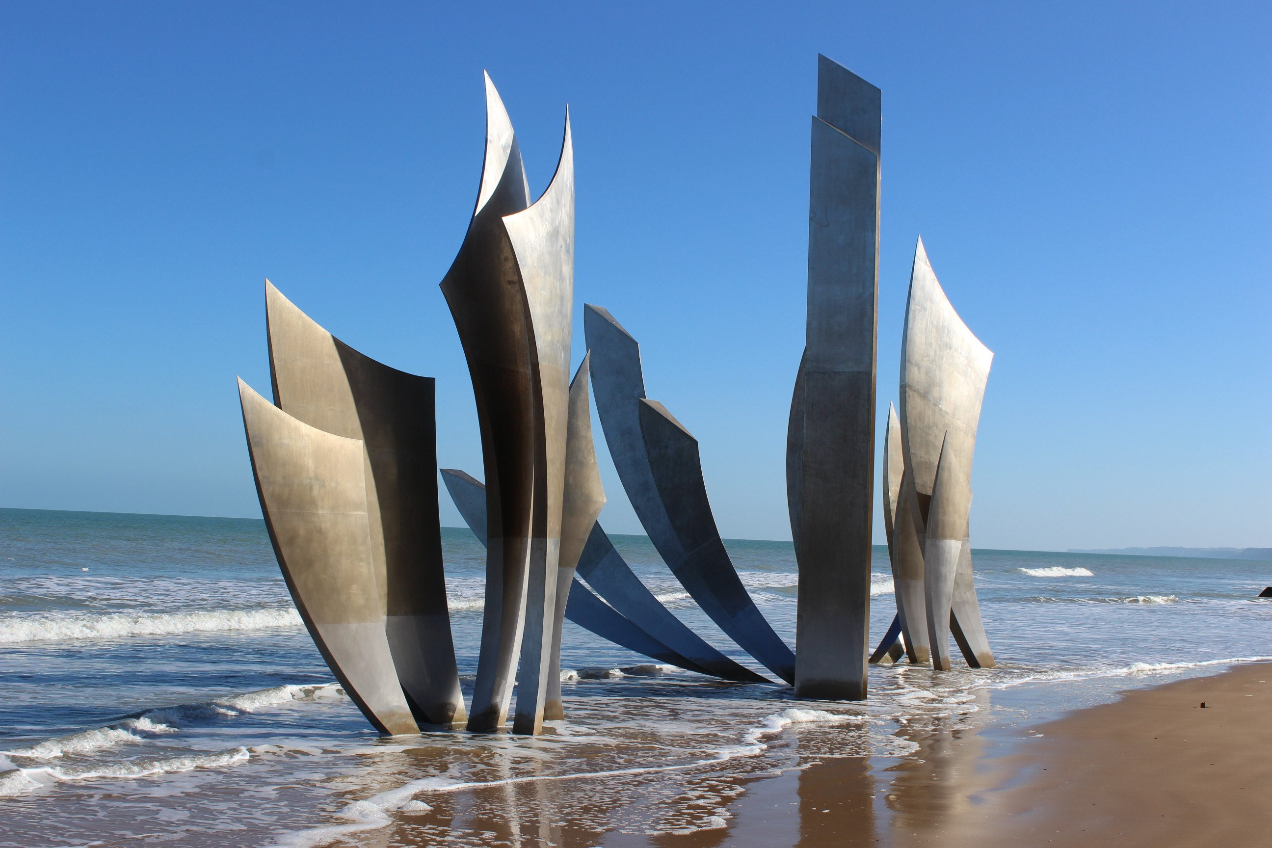 Liberty Near Me >> Les Braves On Omaha Beach - Normandy Gite Holidays
