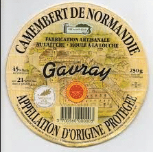 Gavray camembert