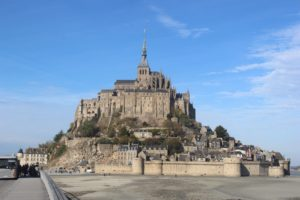A visit to Mont-Saint-Michel