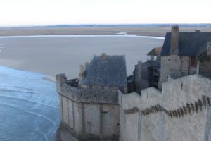 Mont-Saint-Michel ramparts