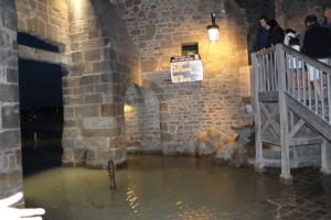 Mont-Saint-Michel high tides