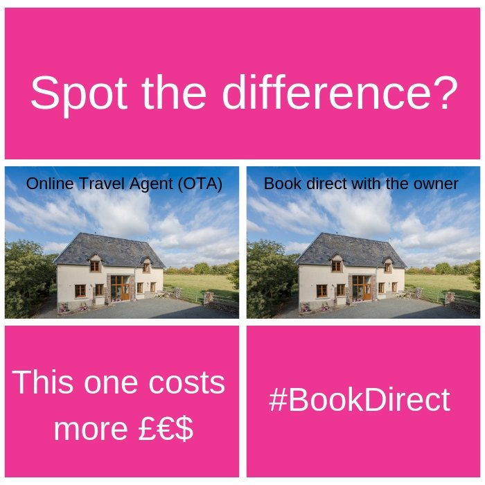 #BookDirect