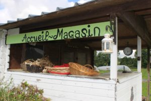 Normandy farm shop