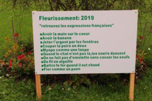 Coutances garden