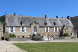 abbot's house at Longues sur Mer