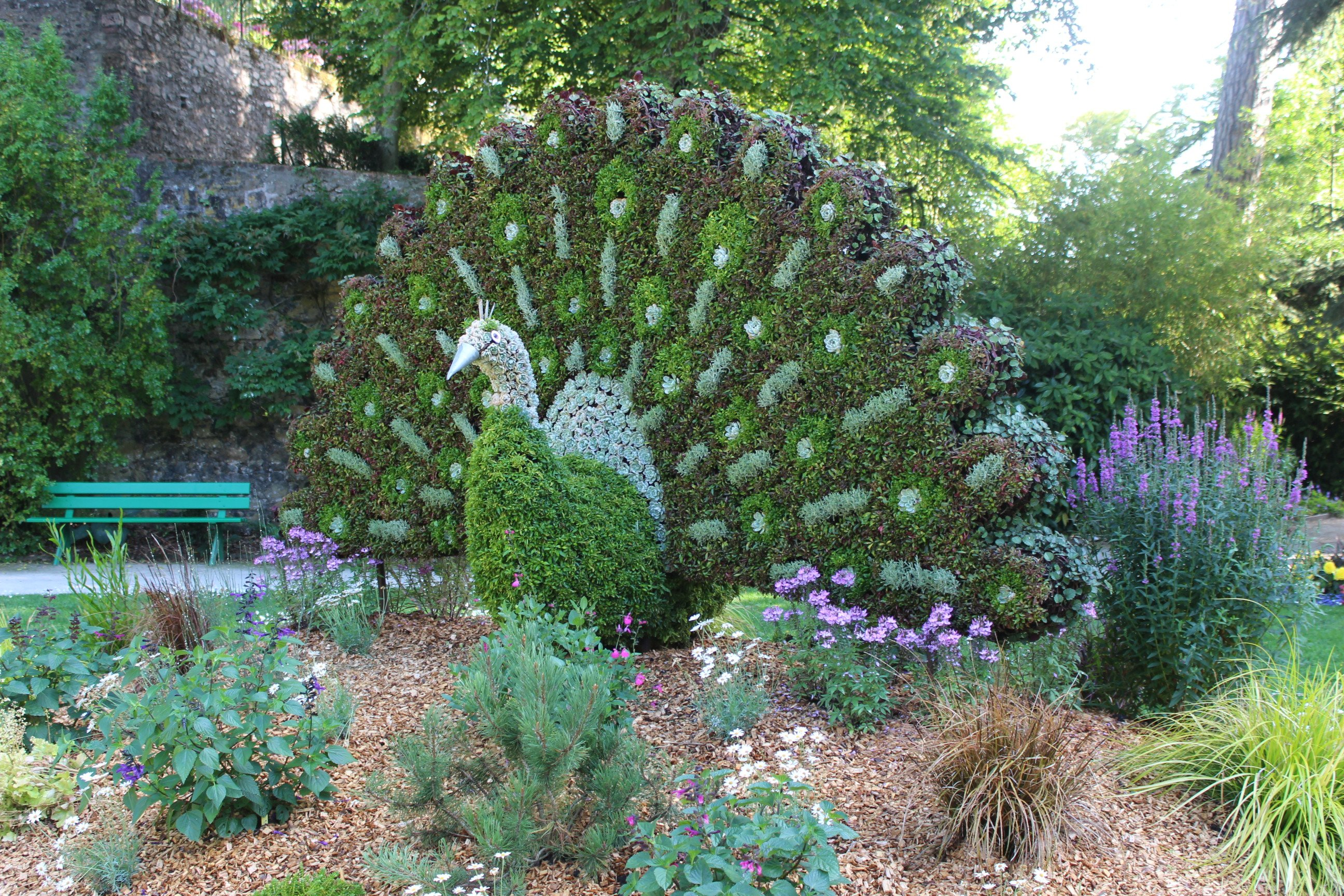 Garden in Coutances
