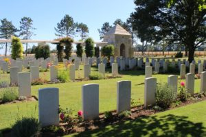 Normandy war cemetery