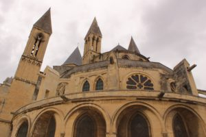 abbey church in Caen