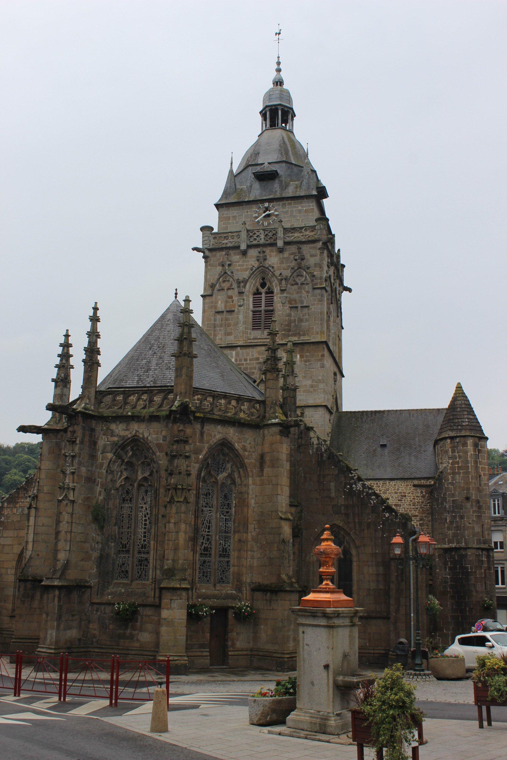 Church in Villedieu