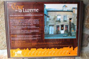 Villedieu Cour de la Luzerne