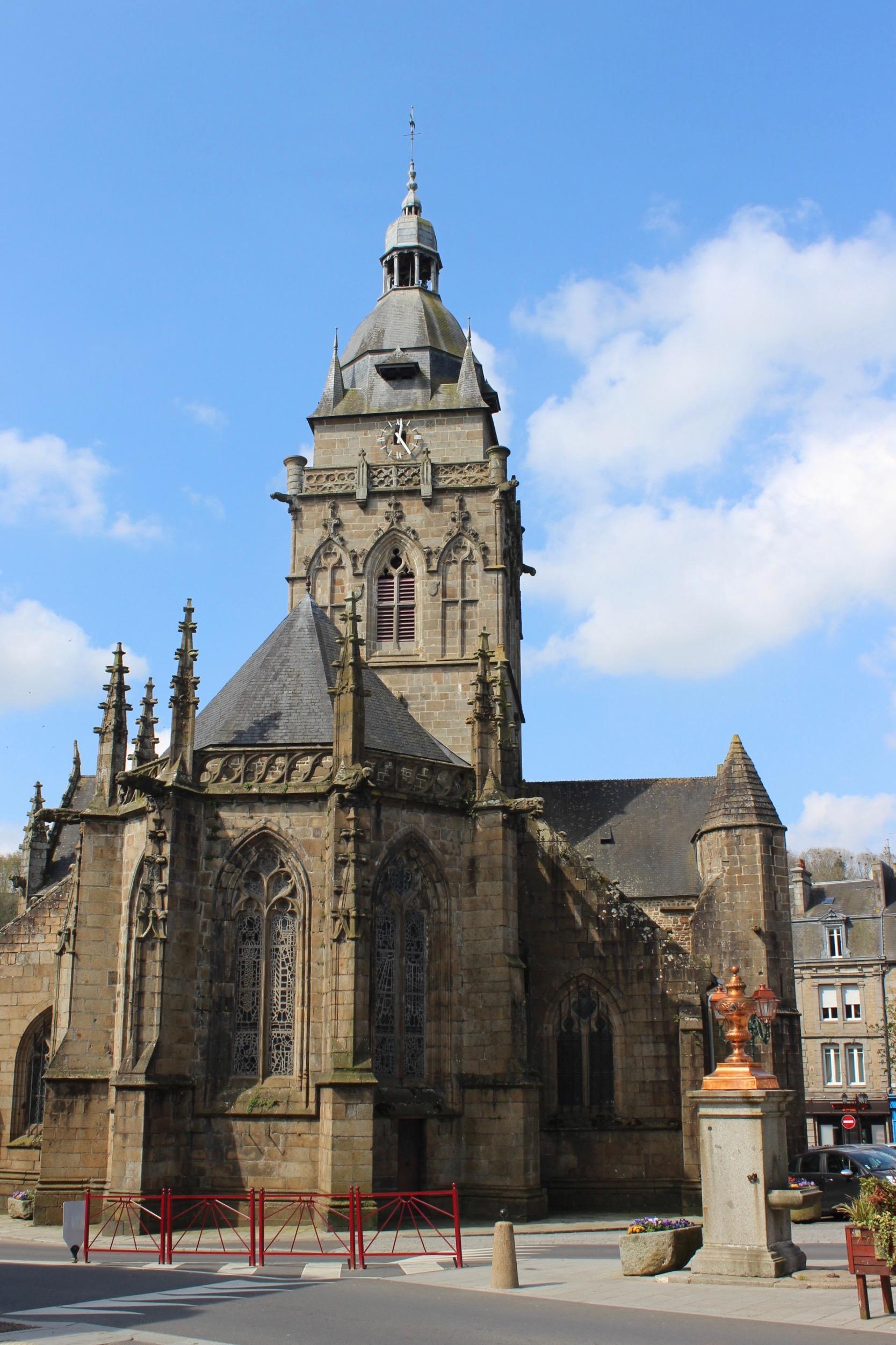 Villedieu church